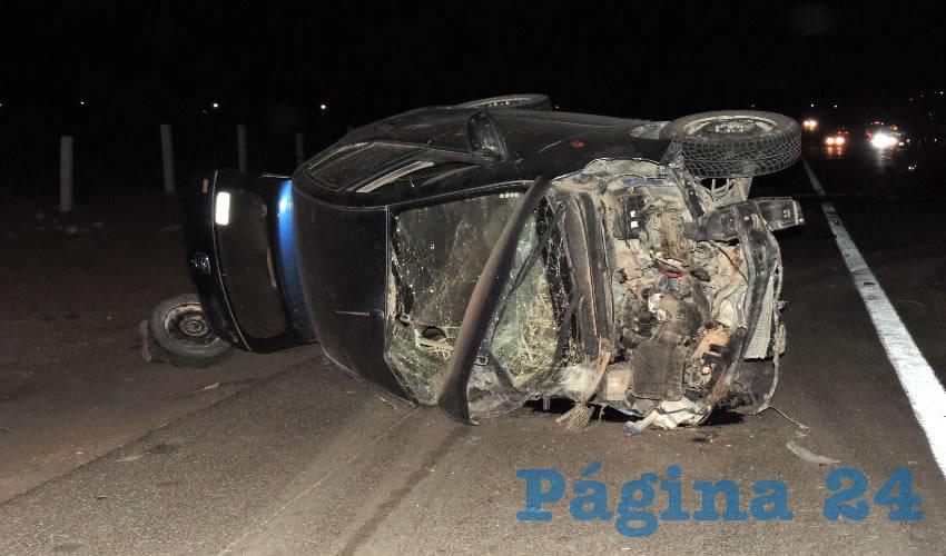 Emilio Macías falleció al chocar y volcar su vehículo Dodge i10