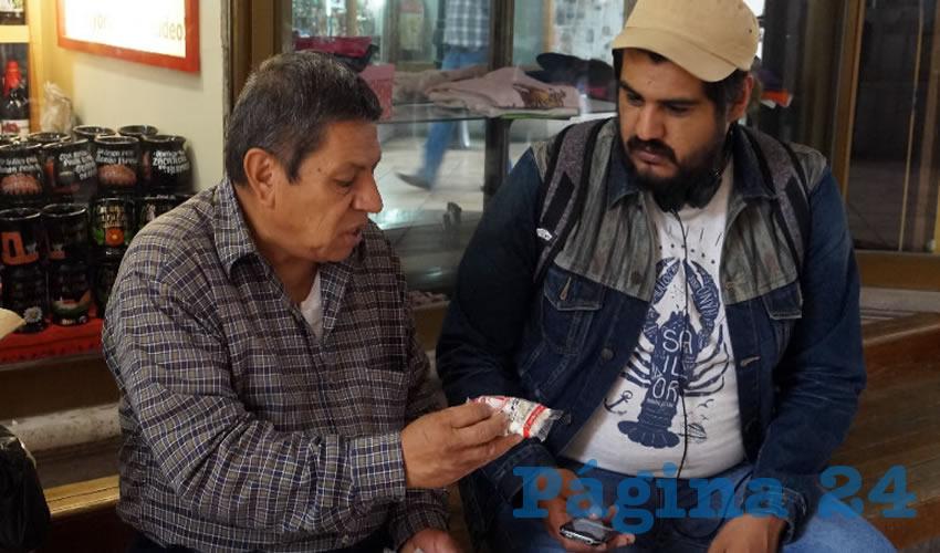 Aproximadamente en 1840, esta actividad es liderada por el abuelo, José Baltazar Soriano, quien además de realizar melcochas para vender fuera de las iglesias, comenzó a comercializarlas en otros municipios del estado de Zacatecas (Foto Merari Martínez Castro)