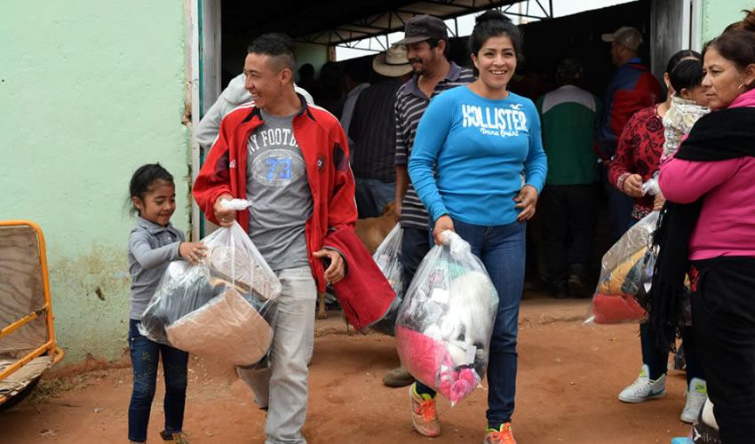 Juan Antonio Caldera Alaniz, director de la corporación, informó que el personal a su cargo concretó la última entrega a la población de las comunidades La Encantada y La Salada, de Fresnillo