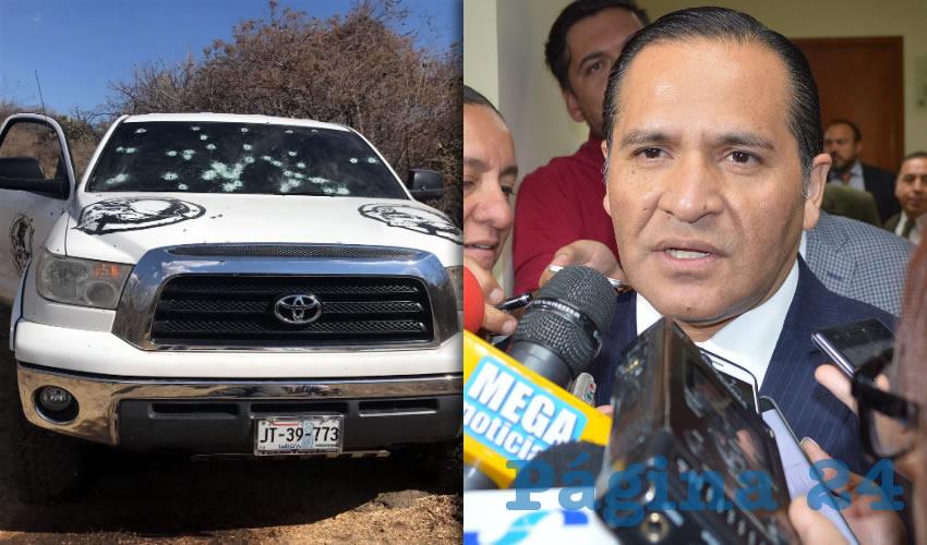 Niega Almaguer ejecuciones  extrajudiciales en Jocotepec