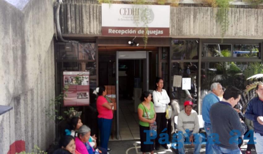 Interponen queja ante la  CEDHJ contra Sergio Chávez