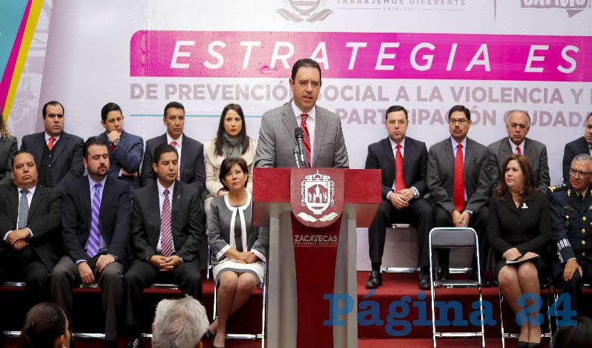 Me Comprometí a Darles Seguridad a los Zacatecanos y lo voy a Cumplir: Tello