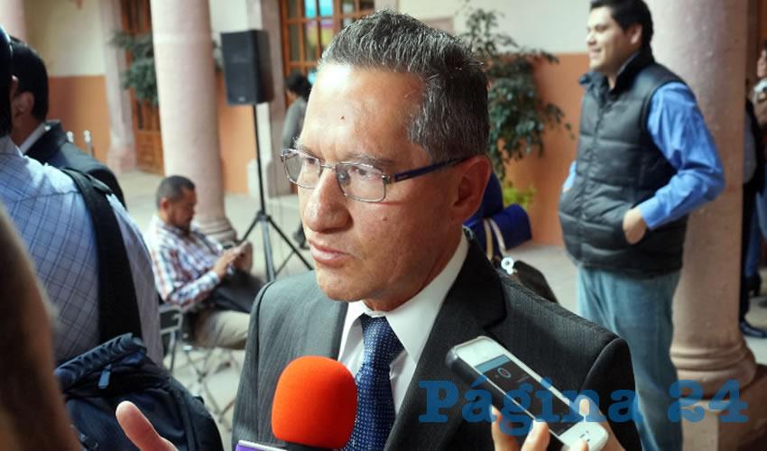 """""""No Hubo Enfrentamiento de Ministeriales con Personas Armadas"""": Marco Vargas"""