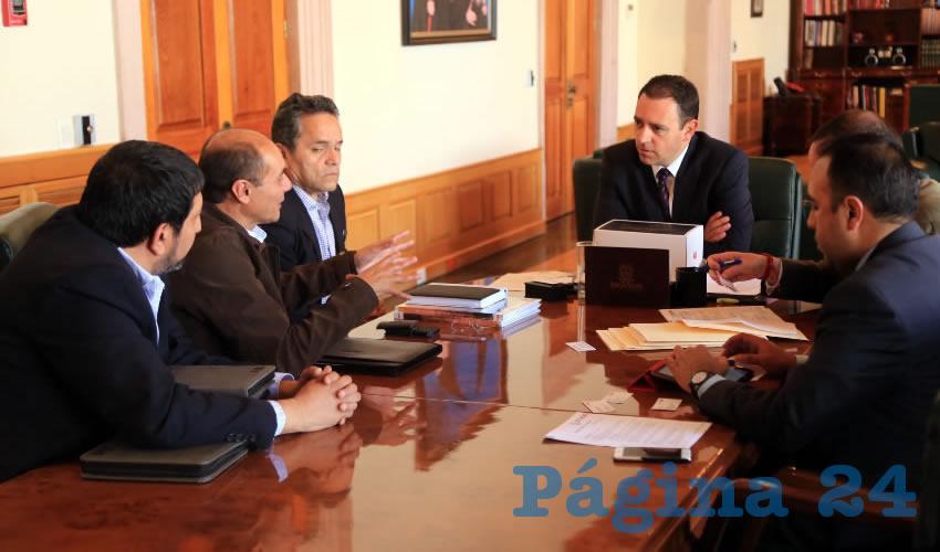 Se Reúne Gobernador con Directivos de Empresa de Robótica y Acuerdan Posibles Inversiones Para Zacatecas
