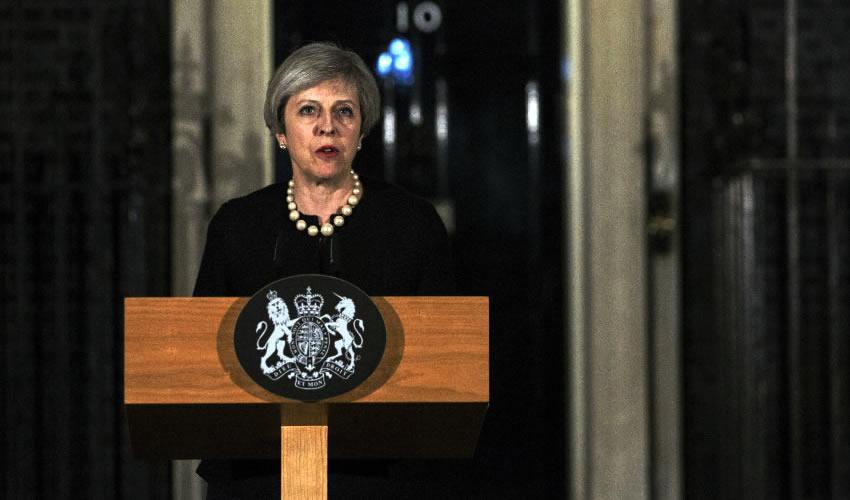 La primera ministra del Reino Unido, Theresa May (Foto: Archivo/Xinhua)