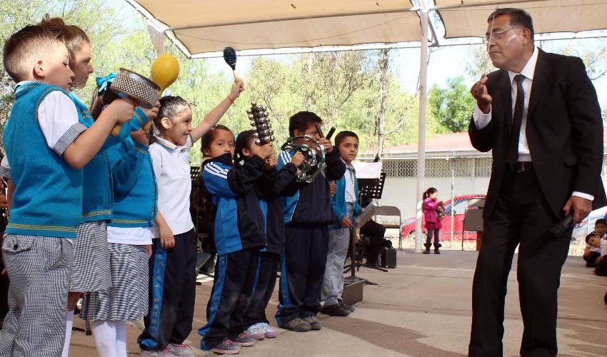 Ofrece Banda Sinfónica Municipal Conciertos Didácticos en Escuelas