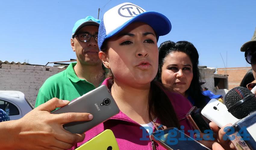 Trabajarán 600 Elementos de la Policía Municipal en la FNSM: Teresa Jiménez