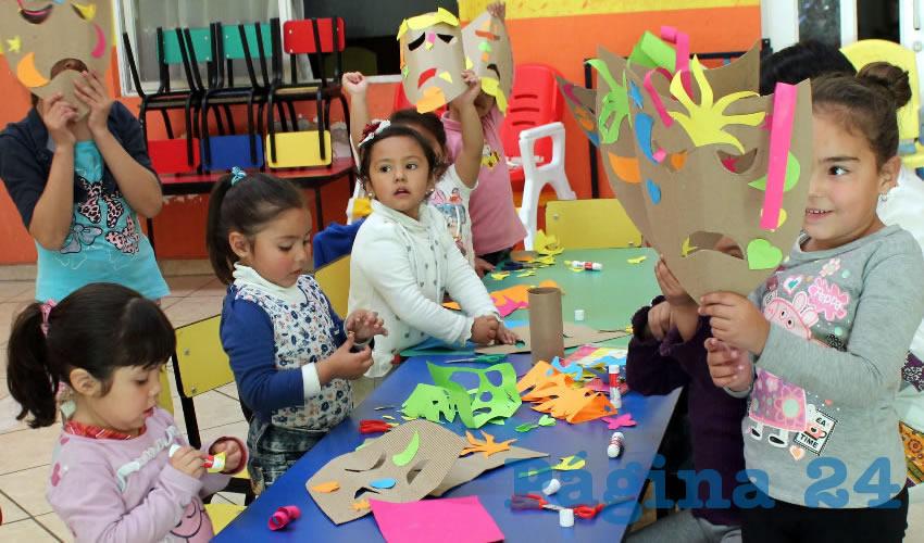 Acerca IMAC a Estancias Infantiles sus Talleres de Iniciación Artística