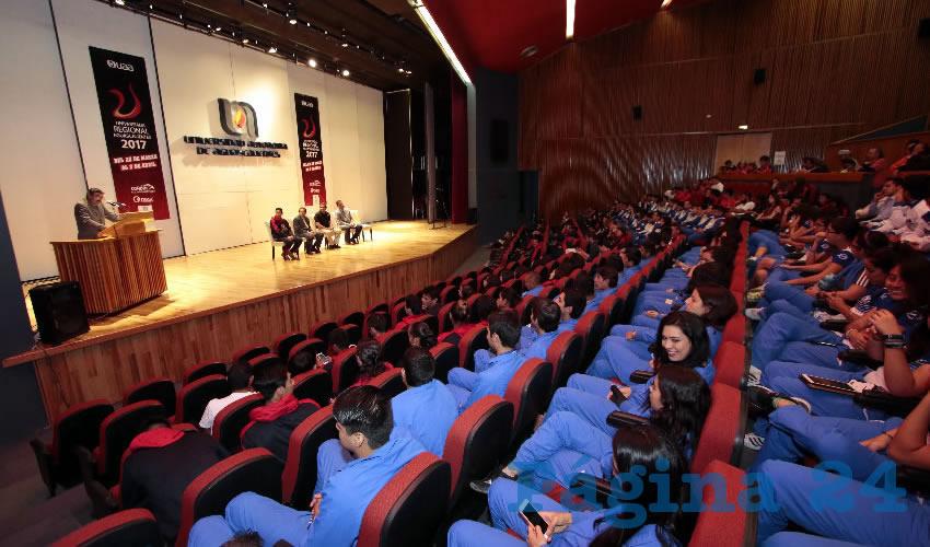Se Inauguró la Universiada Regional de la Zona V del CONDDE en la UAA