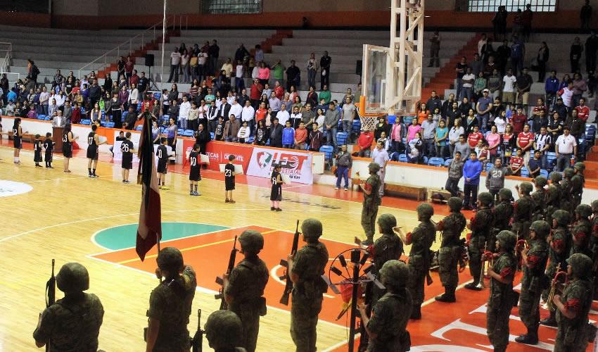 Incufidez Inaugura la Liga Estatal de Desarrollo de Talentos de Basquetbol