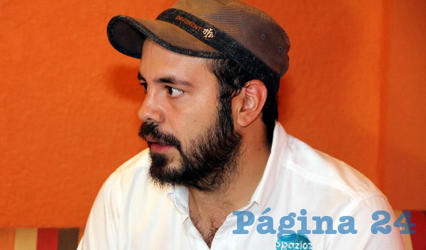 Manuel Alejandro Gutiérrez Flores, vicecoordinador del Colectivo SerGay