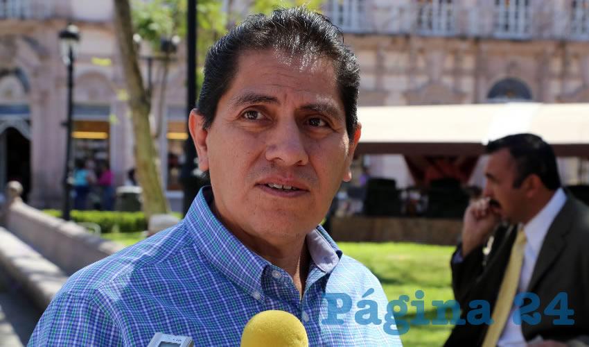 Fernando Ruiz Laguna, director de Vinculación de FARA (Foto: Eddylberto Luévano Santillán)