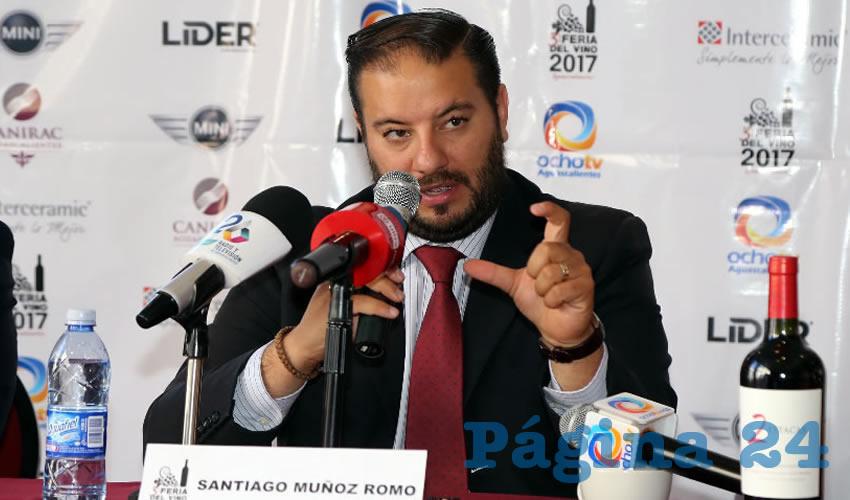 Santiago Muñoz Romo, presidente estatal de la Canirac