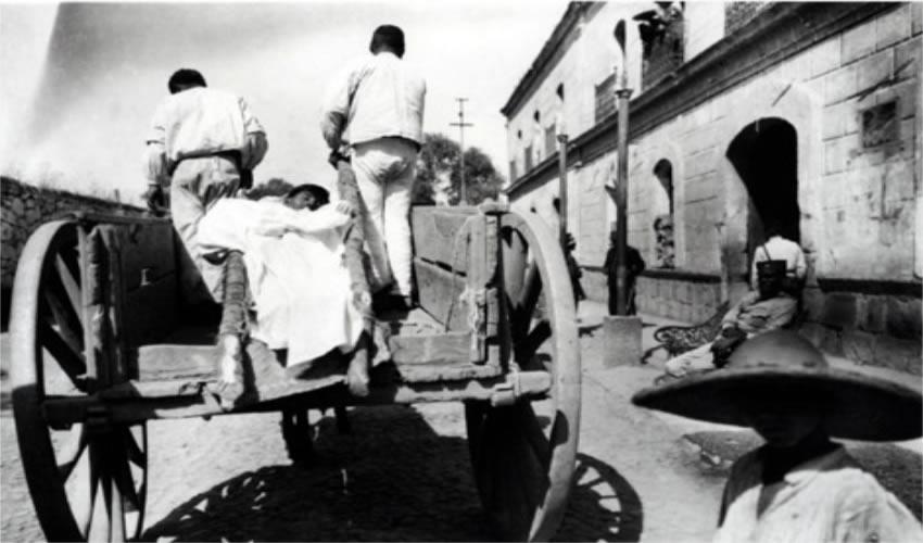 La influenza no distinguía clases sociales (Foto: Tomada de https://depolitica20yotrosdemonios.wordpress.com)