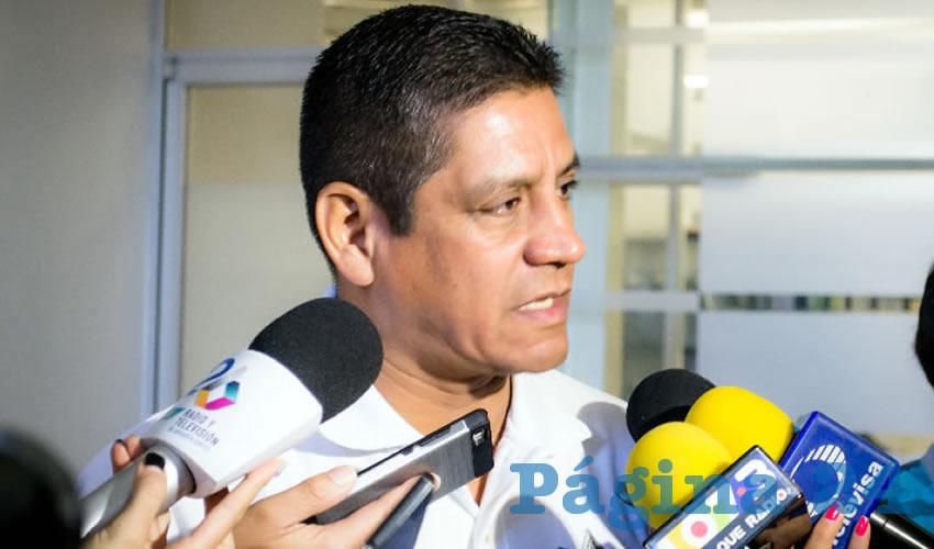 José Héctor Benítez López, secretario de Seguridad Pública Estatal
