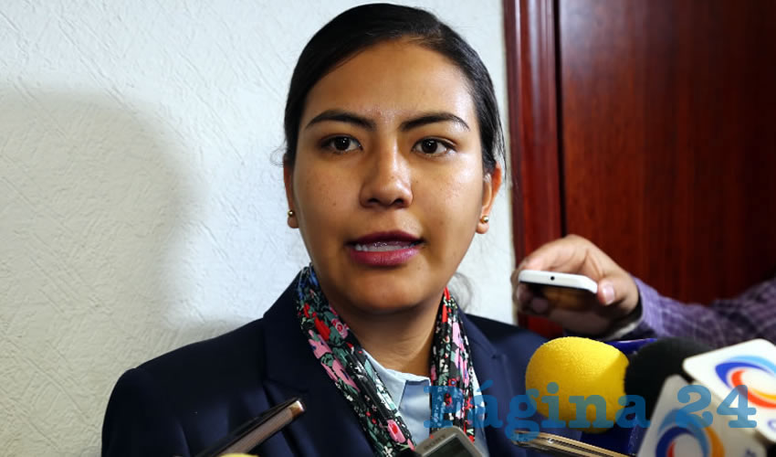 Claudia Guadalupe de Lira Beltrán, legisladora local (Foto: Eddylberto Luévano Santillán)