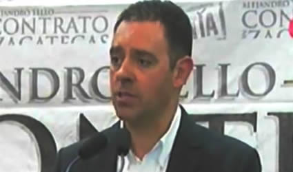 Alejandro Tello Firma Contrato con Zacatecas