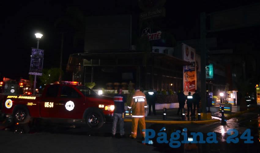 """Como """"pérdida total"""" fue declarada la negociación situada en avenida Las Américas 102"""