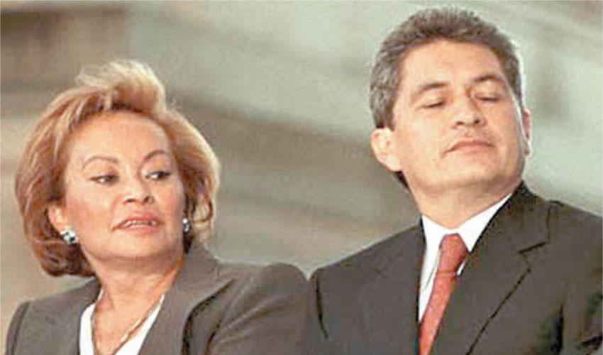 Los tiempos felices: aquí, el connotado priísta, Tomás Yarrington, con el presidente de México Enrique Peña Nieto
