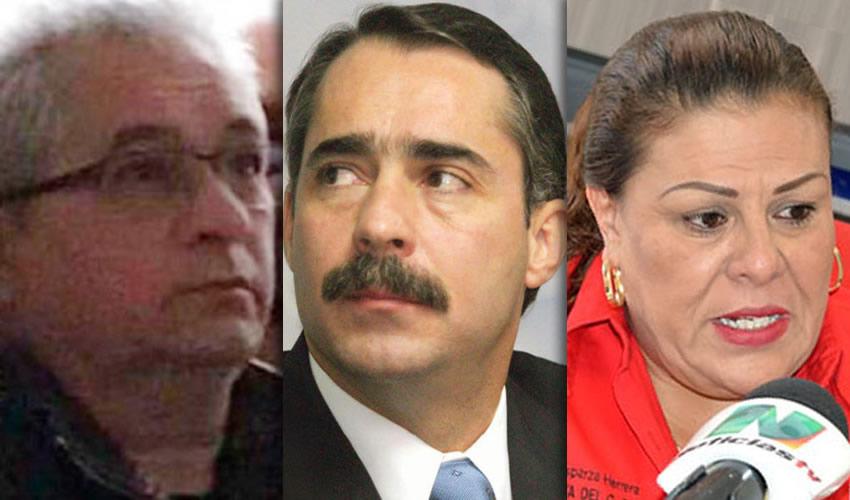 Tomás Yarrington Ruvalcaba ...narcoexgobernador priísta... | Sergio Estrada Cajigal ...narcoexgobernador panista... | Norma Esparza Herrera ...¡que me quiten al toro!...