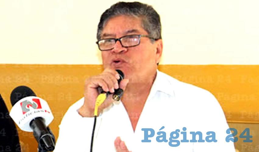 Teofilo García, secretario general del Sindicato Nacional de Trabajares de la Música