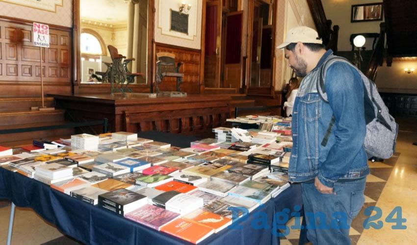 También se contemplan dos presentaciones de libro (Foto Merari Martínez Castro)