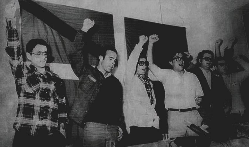 Conferencia de prensa de ETA, en 1977