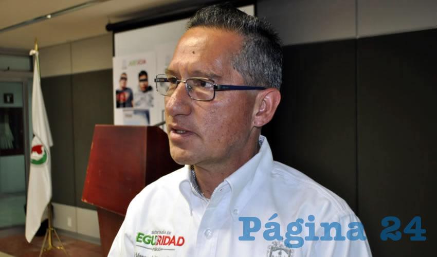 """Marco Antonio Vargas Duarte, vocero de Seguridad: """"Recibió un tiro en la nuca"""""""