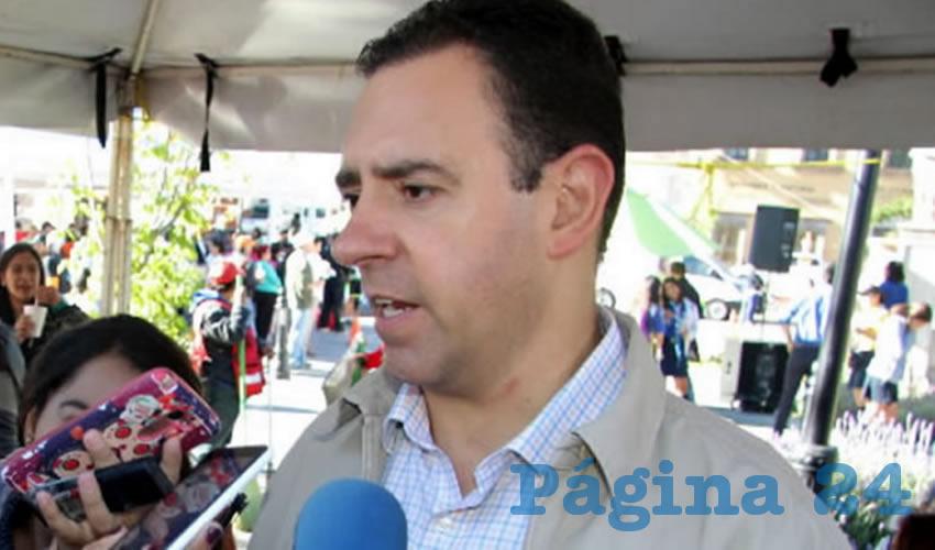 Alejandro Tello Cristerna, gobernador de Zacatecas (Foto: Archivo/ Página 24 Zacatecas)