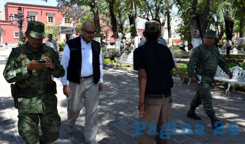 Alejandro Tello refrenda el compromiso con la seguridad en la Entidad
