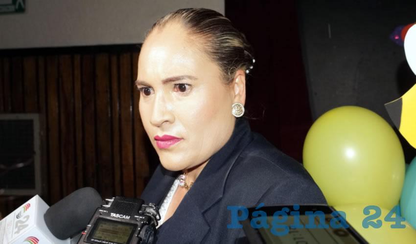 """Rosa Guadalupe Bustos, coordinadora delegacional de Trabajo Social del IMSS: """"Estos casos se detectaron a través de la estrategia educativa de ChiquitIMSS"""" (Foto Merarí Martínez)"""