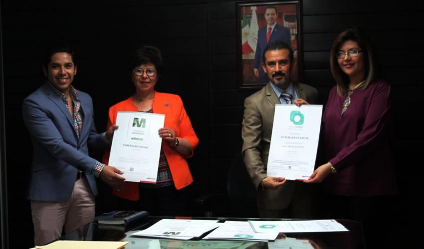 Secretaría de Turismo Entrega Certificaciones a Establecimientos de Sombrerete Pueblo Mágico