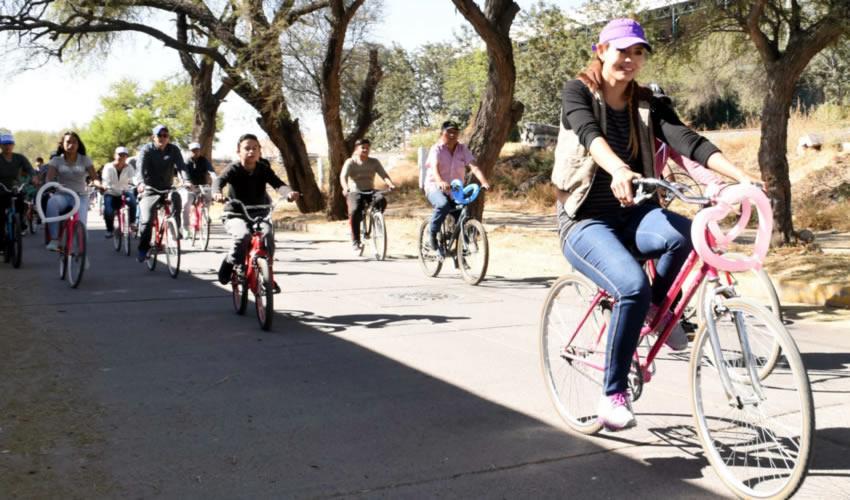 El primer anillo de movilidad, construcción de ciclo vías, bici estacionamientos y consolidación del sistema de bicicletas públicas, son algunas medidas