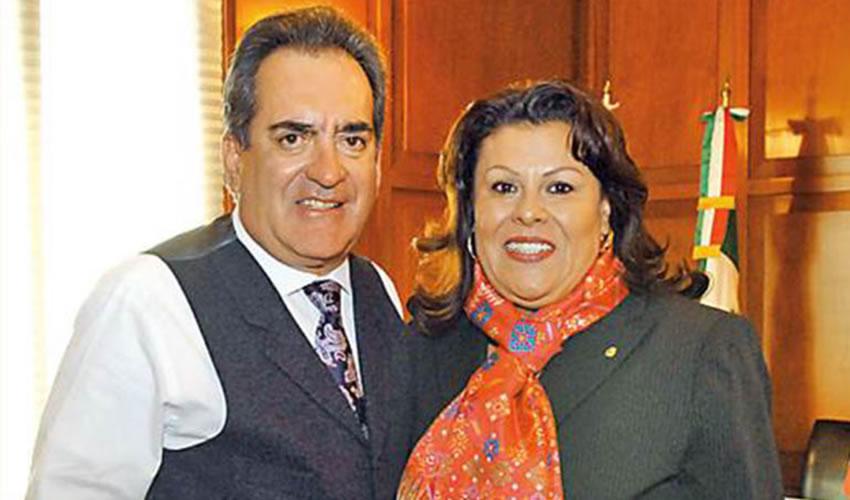 Carlos Lozano de la Torre y Norma Esparza Herrera ...si hay desvío de recursos, que paguen las consecuencias: los tiempos cambian...