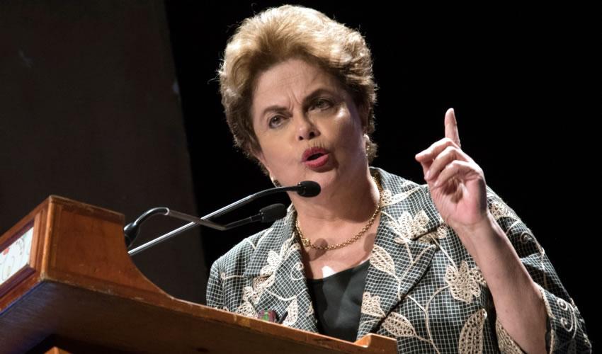 La expresidenta de Brasil, Dilma Rousseff (Foto: Tercero Díaz /Cuartoscuro)