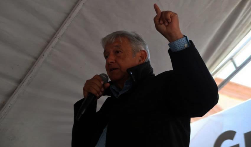 Andrés Manuel López Obrador, candidato a la Presidencia por la coalición Juntos Haremos Historia (Foto: Archivo/ Morena)