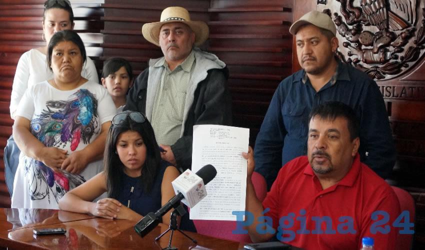 Personal de la Minera se Llevaron Cuanto Animal de Traspatio Pudieron: Francisco Tamayo, Afectado