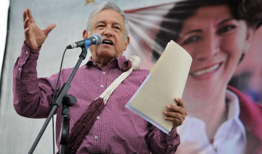 Peña Nieto, Yunes y Chong son  Peores que Eva Cadena: AMLO