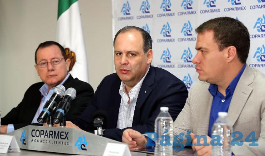 """Conferencia de prensa de Coparmex: """"La PGR debe cumplir con su trabajo"""" (Foto: Eddylberto Luévano Santillán)"""