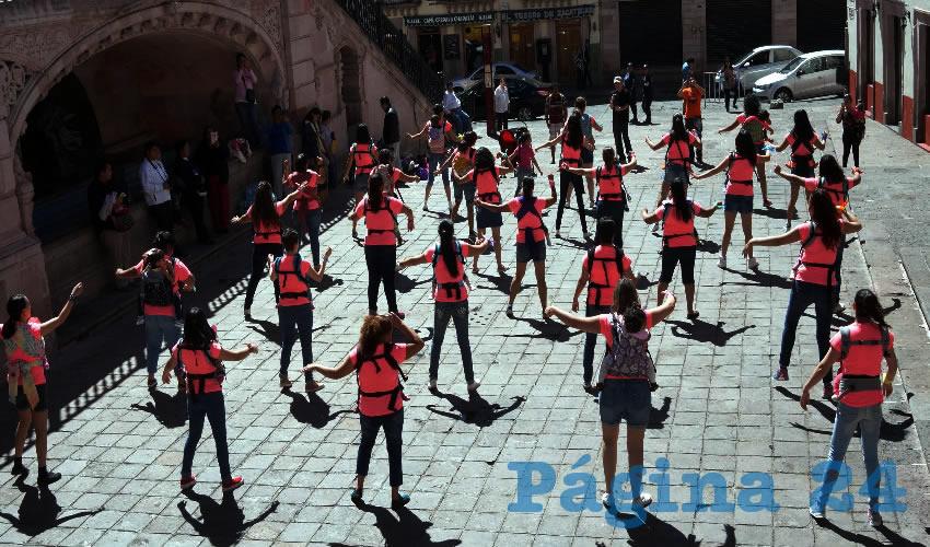 """""""Es una convocatoria a nivel nacional, decidimos participar en esta tercera ocasión que la convocan, pues es la tercera vez que Zacatecas participa"""", destacó Roxana Álvarez"""