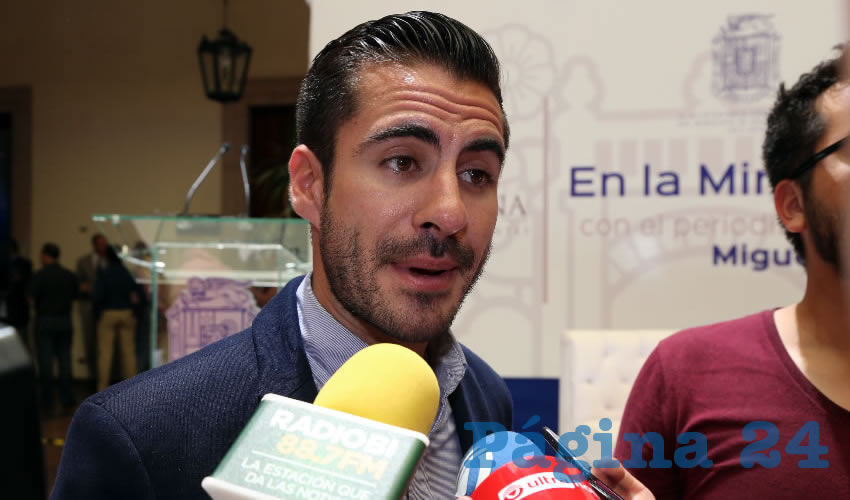 Salvador Alcalá Durán, secretario de Enlace Ciudadano del Municipio capital