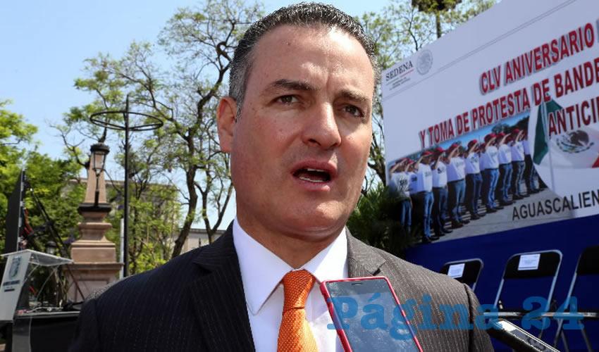 René Urrutia de la Vega, fiscal estatal (Foto: Eddylberto Luévano Santillán)