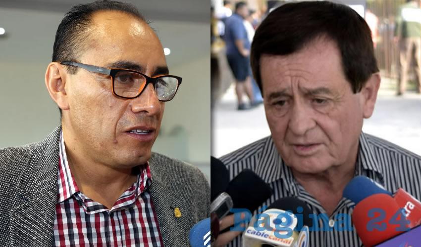 Jesús Adrián Castillo Serna, secretario de Desarrollo Urbano | José de Jesús Rodríguez Benavides, director de Tránsito