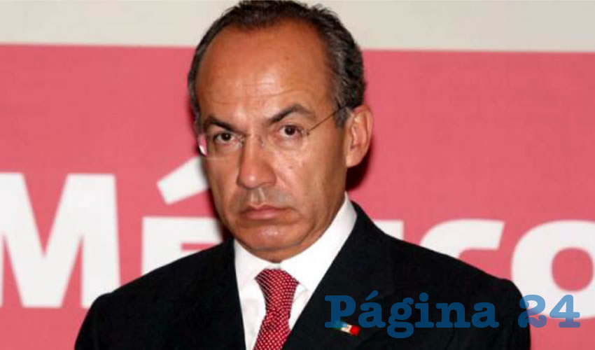 Felipe Calderón Hinojosa ...amenaza con renunciar al PAN...