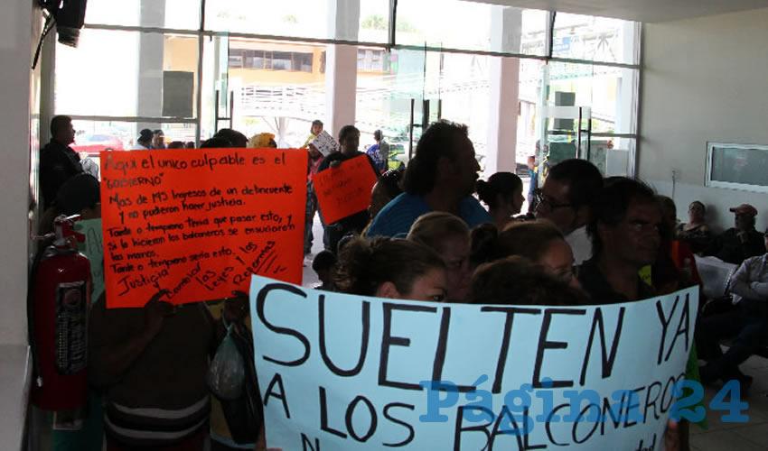 """Exigen ciudadanos la liberación de los homicidas de """"El Huevo"""""""