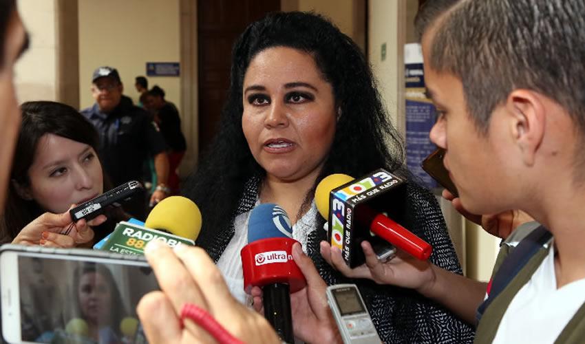 Georgina Tiscareño de Lira, coordinadora de Delegaciones Municipales (Foto: Eddylberto Luévano Santillán)