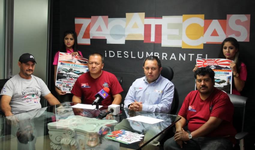 Las instalaciones de la Megavelaria recibirán a 300 propietarios y vehículos de Aguascalientes, San Luis Potosí, Durango, Guadalajara y Saltillo; así como de los municipios de Jerez, Fresnillo, Guadalupe y Zacatecas.