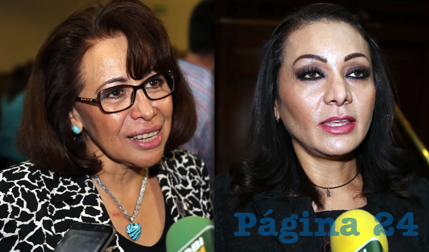 Ma. Estela Cortés Meléndez, diputada local | Citlalli Rodríguez González, diputada local