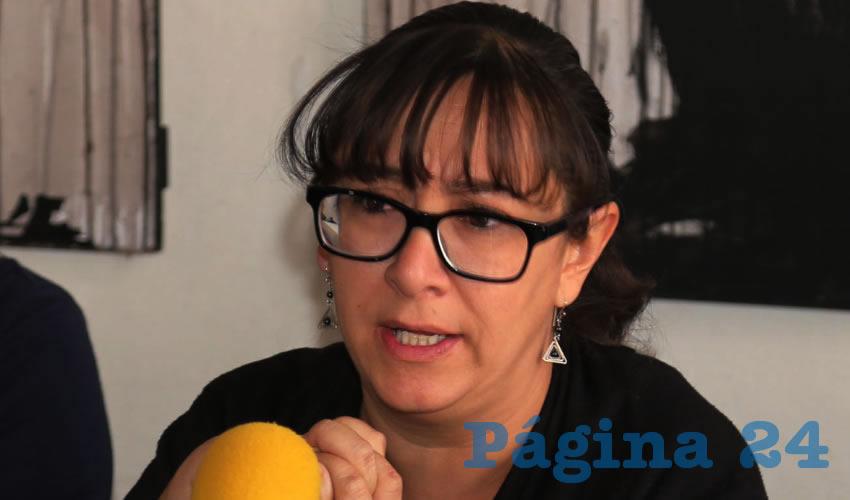 Paulina Díaz Guzmán ...tiene sus sospechas...
