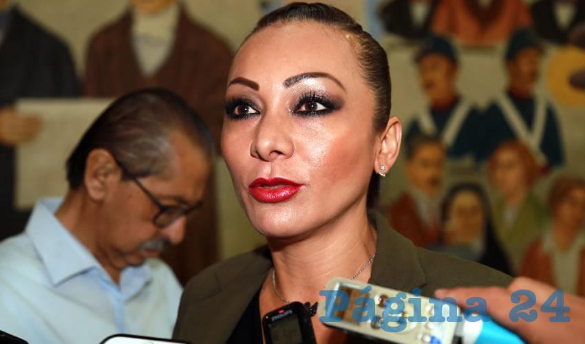 Edith Citlalli Rodríguez González, legisladora local (Foto: Eddylberto Luévano Santillán)
